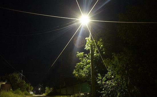 Зажигаются фонари