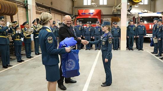 Молодые лейтенанты – на страже безопасности жителей Поморья