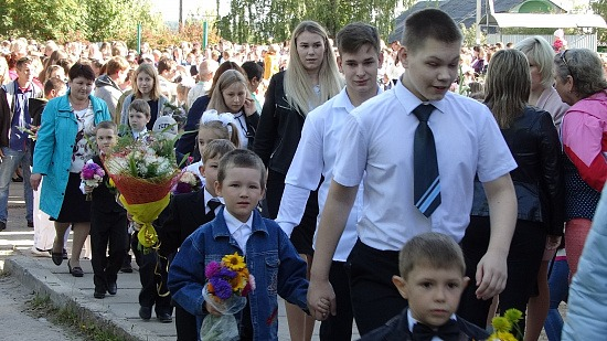 984 ученика встретила Березниковская средняя школа