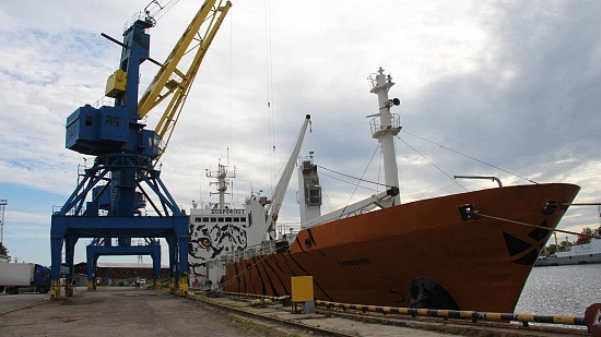 В Архангельск по Севморпути доставлен очередной груз дальневосточной рыбы