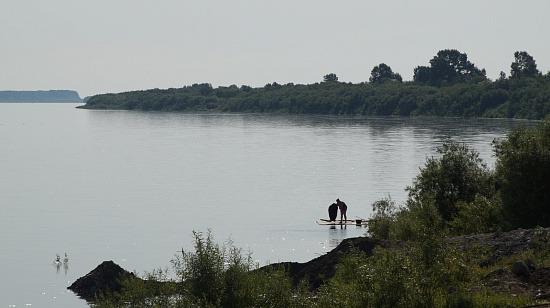 Уровень воды в Двине выше нормы