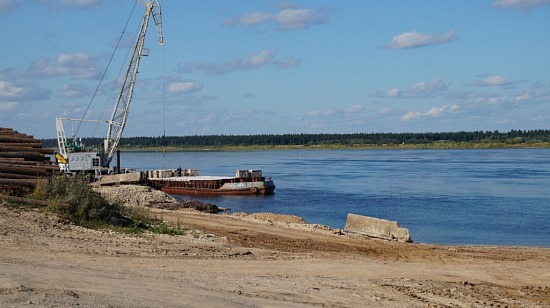 На Северной Двине к 4 сентября 2019 года сохраняются высокие горизонты воды.