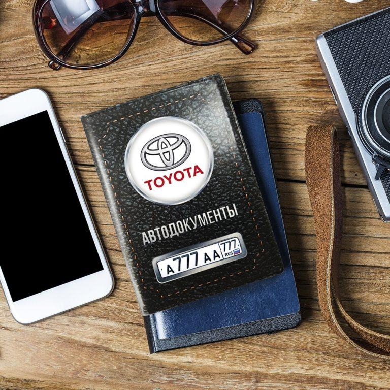 Эксклюзивная обложка для автодокументов! Черная обложка с пластиковыми кармашками под автодокументы с индивидуальным дизайном станет отличным подарком для любого водителя!.jpg