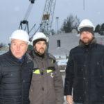Министр строительства и архитектуры Архангельской области Денис Гладышев с рабочим визитом в Виноградовском районе