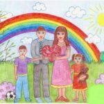"""Семейный фотоконкурс """"Счастливая семья глазами ребенка"""""""