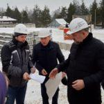 В ходе рабочей поездки в Виноградовский район губернатор побывал на строительстве больницы
