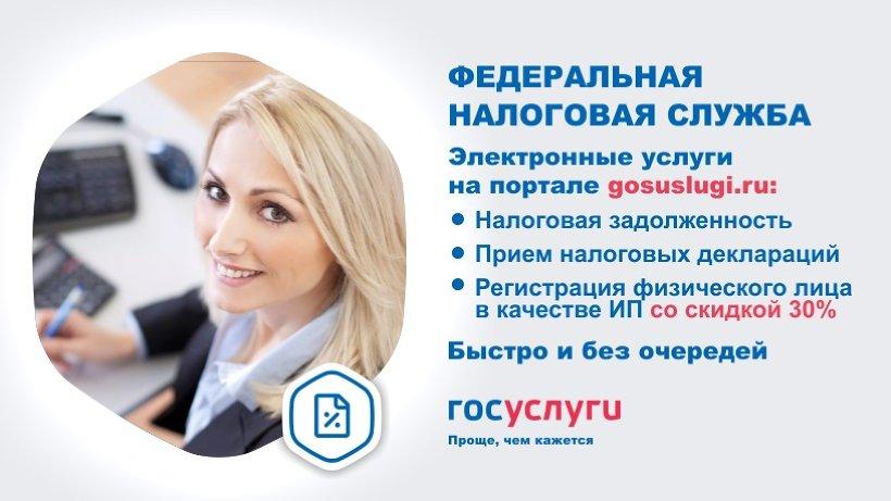 Получить государственные услуги ФНС России можно на портале госуслуг