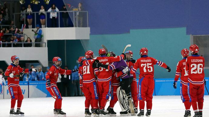 Сборная России стартовала с победы в международном турнире «Трех наций»