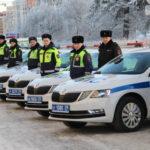 В Архангельскую область поступило 70 новых патрульных автомобилей ГИБДД
