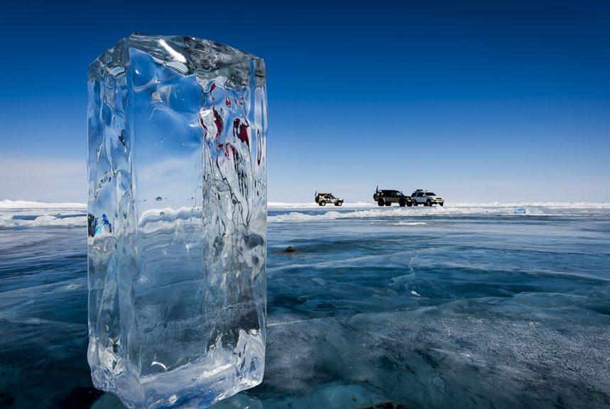 Лед на Северной Двине не больше 45 сантиметров