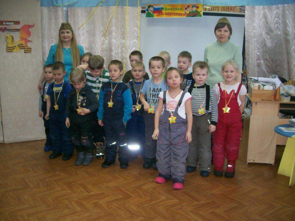 Воспитанники детского сада «Березка» Виноградовского района прошли курс молодого бойца