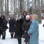 Гости из Устьян оценили парк Победы и спортивное ядро в поселке Березник Виноградовского района