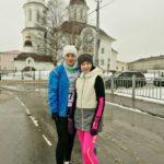 Юная жительница Березника Эллина Оленбергер - победитель зимнего легкоатлетического пробега