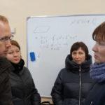 Гости из Устьянского района на Виноградье