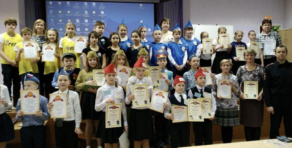 На областном конкурсе «Безопасное колесо-2020» Виноградовский район представляют юные инспекторы из Хетово