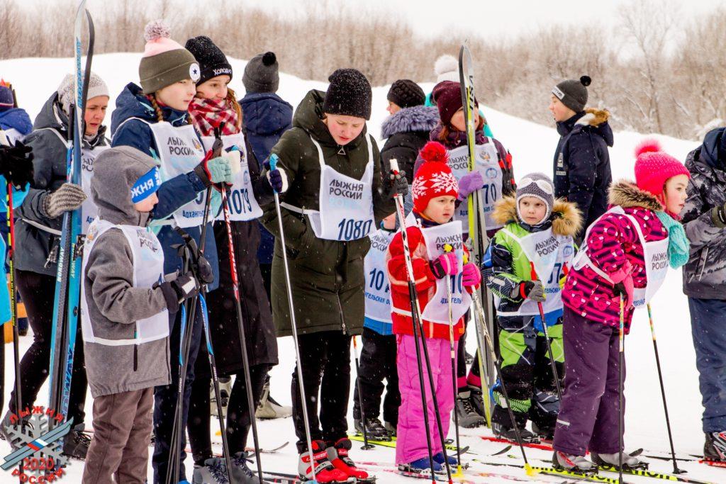 В «Лыжне России» приняли участие более 80 жителей Виноградовского района