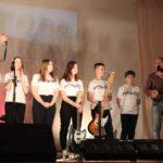 Батальон солдат и ВИА культурно-досугового Центра поселка Березник Виноградовского района исполнили легендарную «Катюшу»