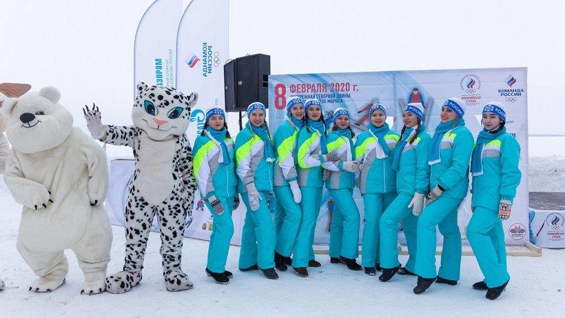 Олимпийское настроение: в Архангельске состоялся День зимних видов спорта