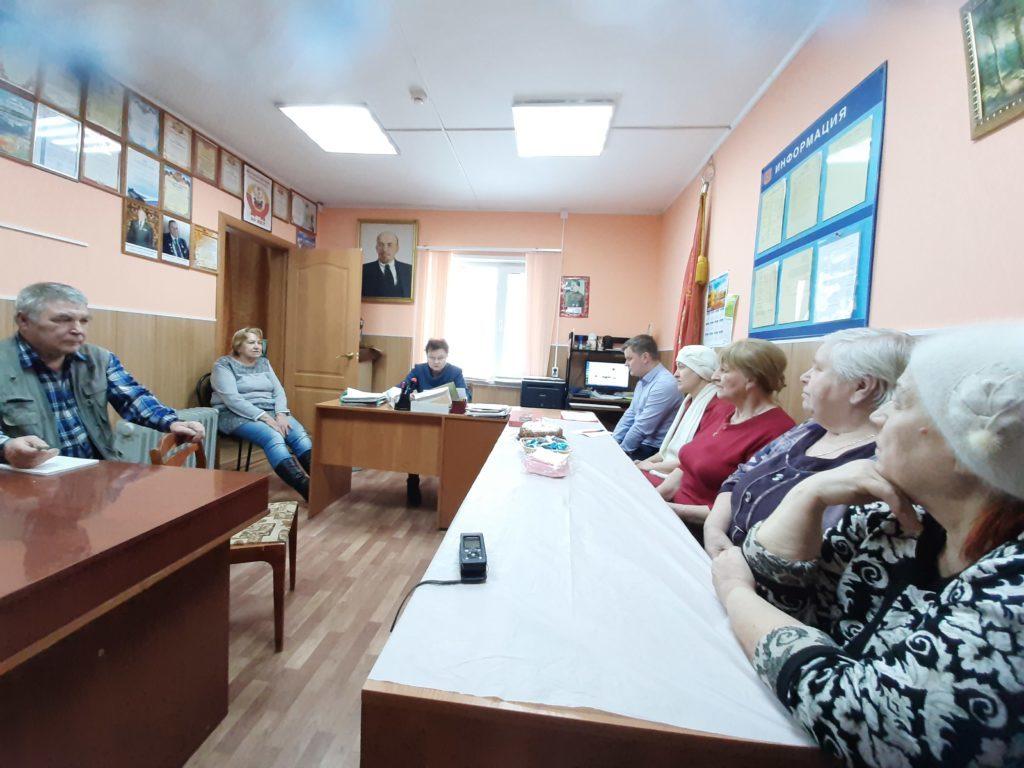 Ветераны Виноградовского района обсудили решения областного пленума