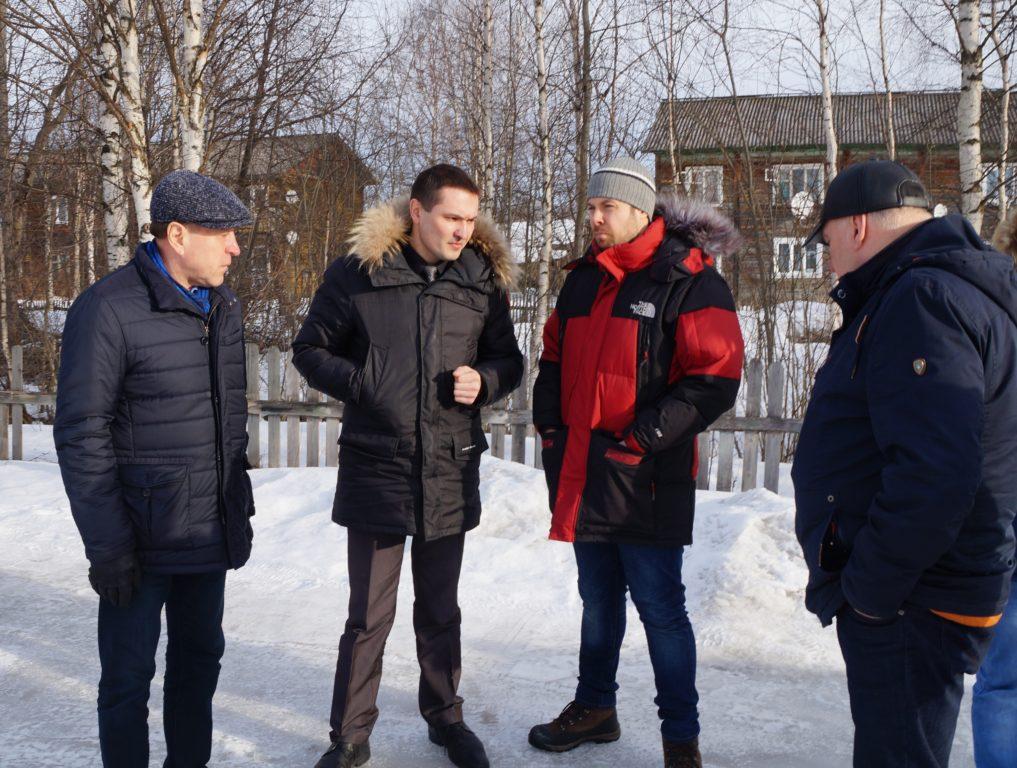 К строительству домов в райцентре Виноградовского района приступят  в апреле