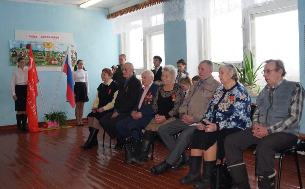 Знамя Победы в Конецгорье Виноградовского района