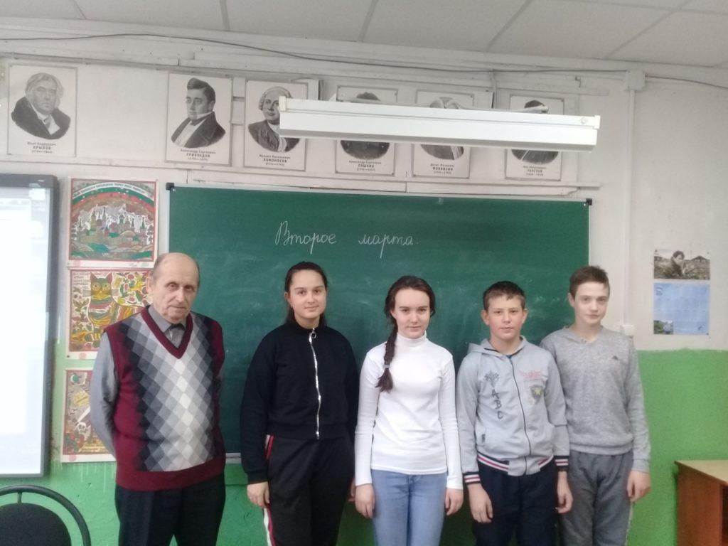 Встреча с краеведом Виноградовского района Леонидом Озолом