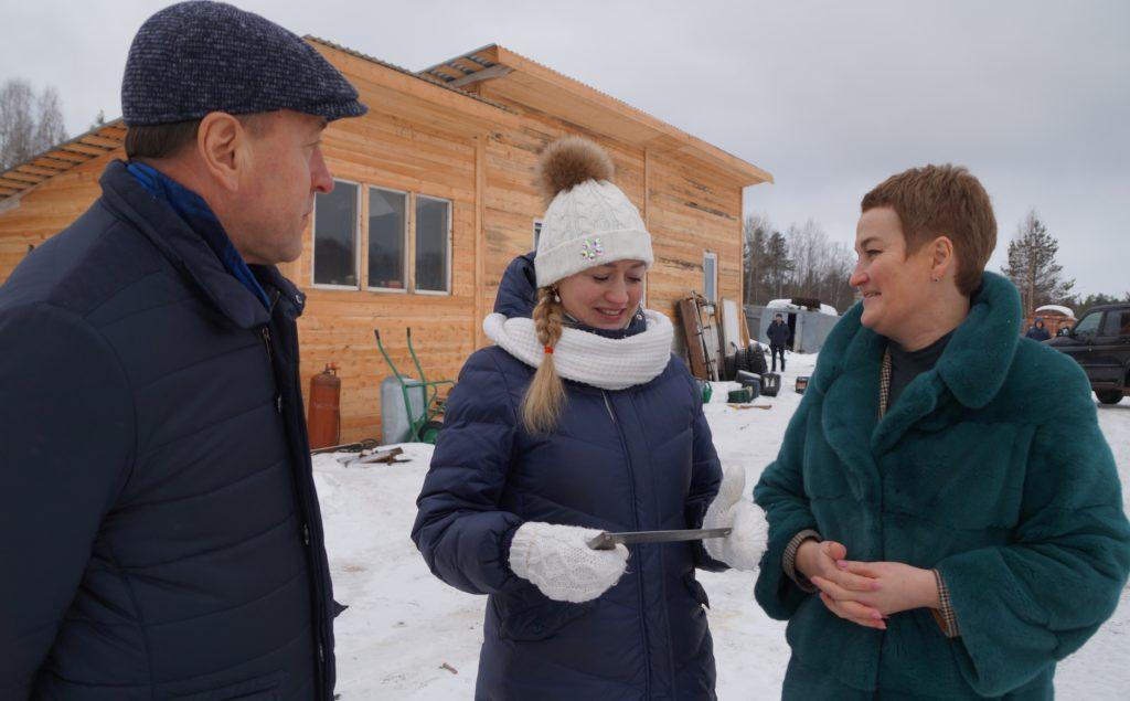 Уверенно смотрит в будущее предприниматель из Виноградовского района Юлия Кондратьева