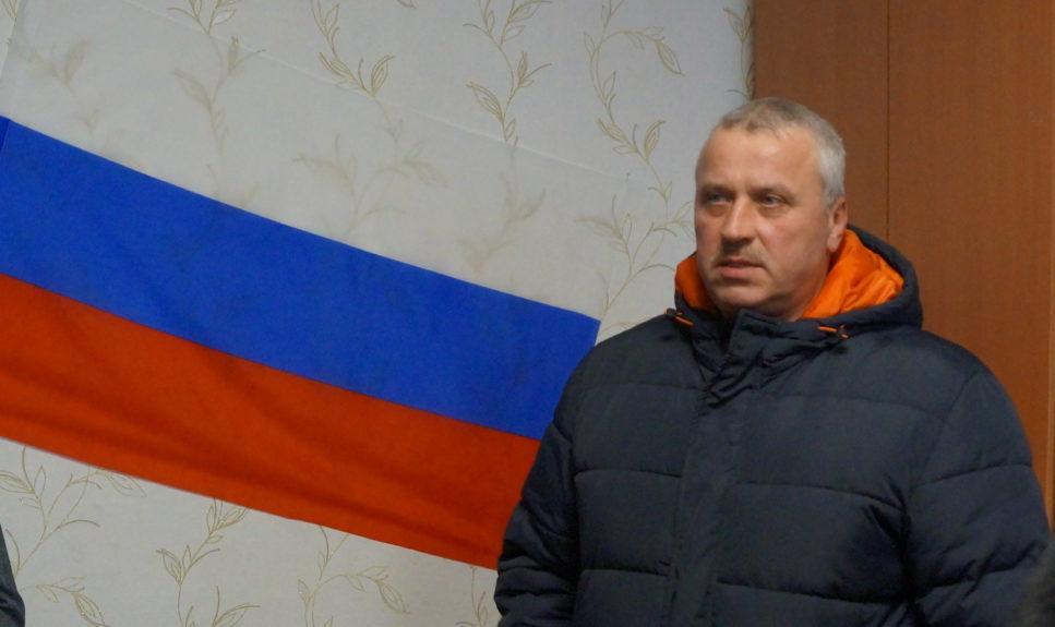 Глава МО «Рочегодское» Виноградовского муниципального района Николай Шнюков сложил полномочия