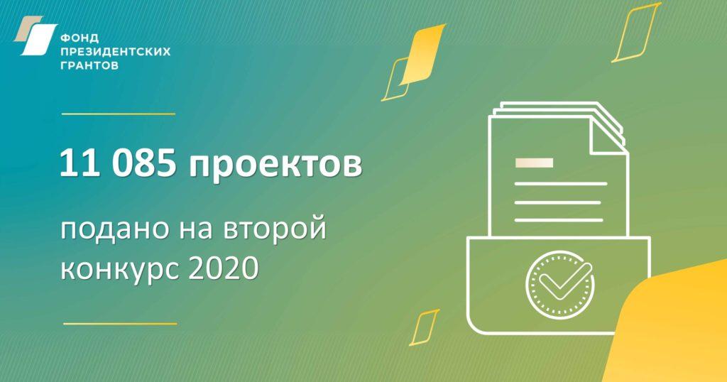 Больше 11 тысяч проектов подано на второй конкурс президентских грантов. Среди них вновь проект из Виноградовского района