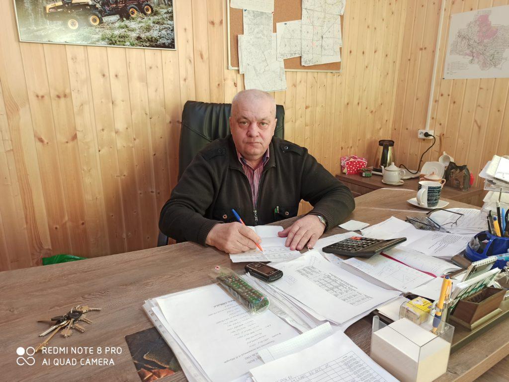 Руководитель «Ваеньгского леспромхоза» Иван Потайчук удостоен звания «Заслуженный работник лесной промышленности Российской Федерации»