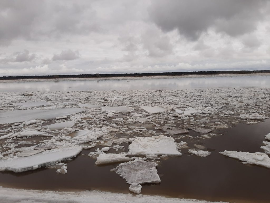 За время прохождения ледохода 2021 года ни один низководный мост в Поморье не пострадал
