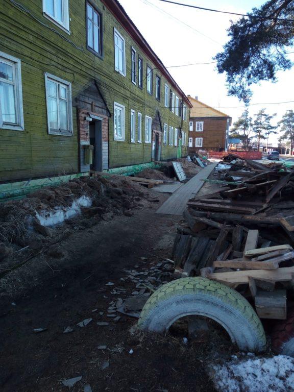 Продолжается ремонт многоквартирных домов в Виноградовском районе