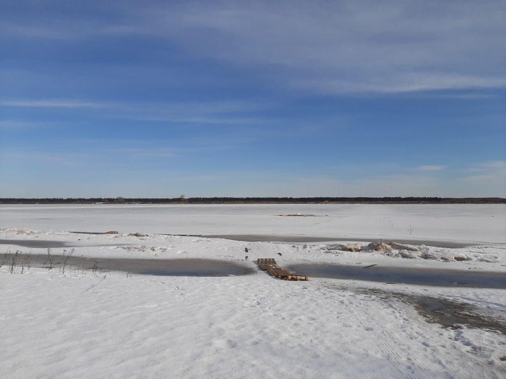 С 6 апреля в Виноградовском районе запрещен выход на лед!