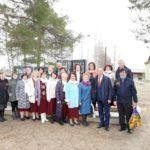 В поселке Хетово Виноградовского района в День Победы открыли памятник героям войны