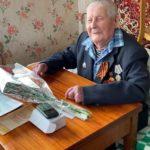 Ветераны Великой Отечественной войны Виноградовского района принимают поздравления с Днем Победы!