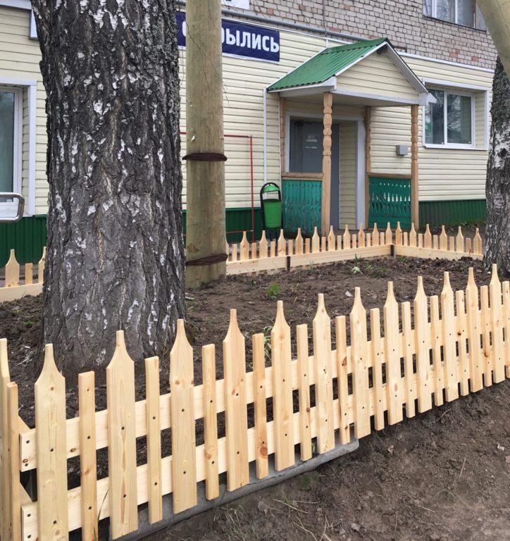 Красота вокруг нас. Предприниматели Виноградовского района помогают благоустраивать поселки и деревни