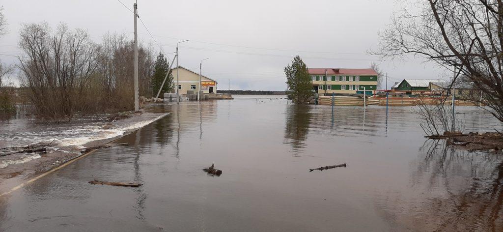 Оперативный штаб по паводку: уровень воды во всех районах области– ниже отметок подтопления