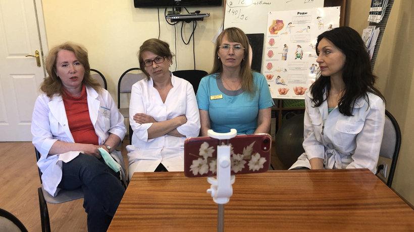 Счастливое рождение: в роддоме имени Самойловой проходят онлайн-занятия для будущих мам