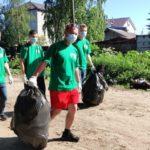 Молодежь наводит чистоту в рамках губернаторского проекта