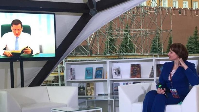 Видеокнигу «Читаем Абрамова» представили на «Красной площади»