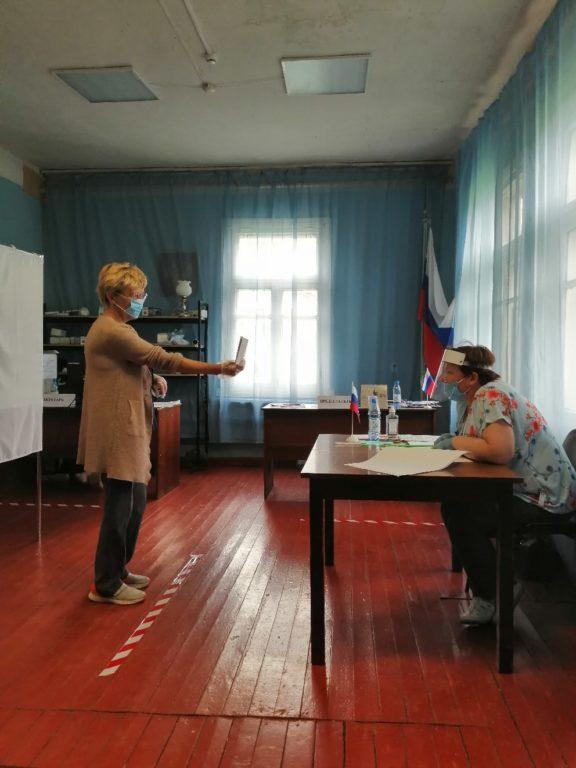 В Виноградовском районе стартовало общероссийское голосование