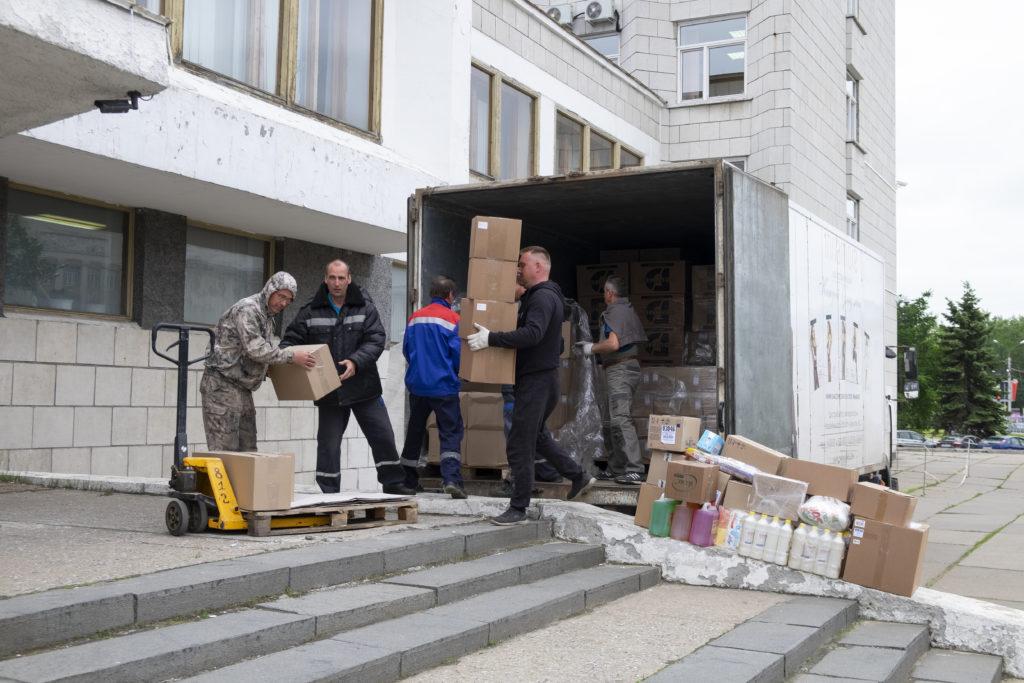 Избирательная комиссия Архангельской области получила партию средств индивидуальной защиты