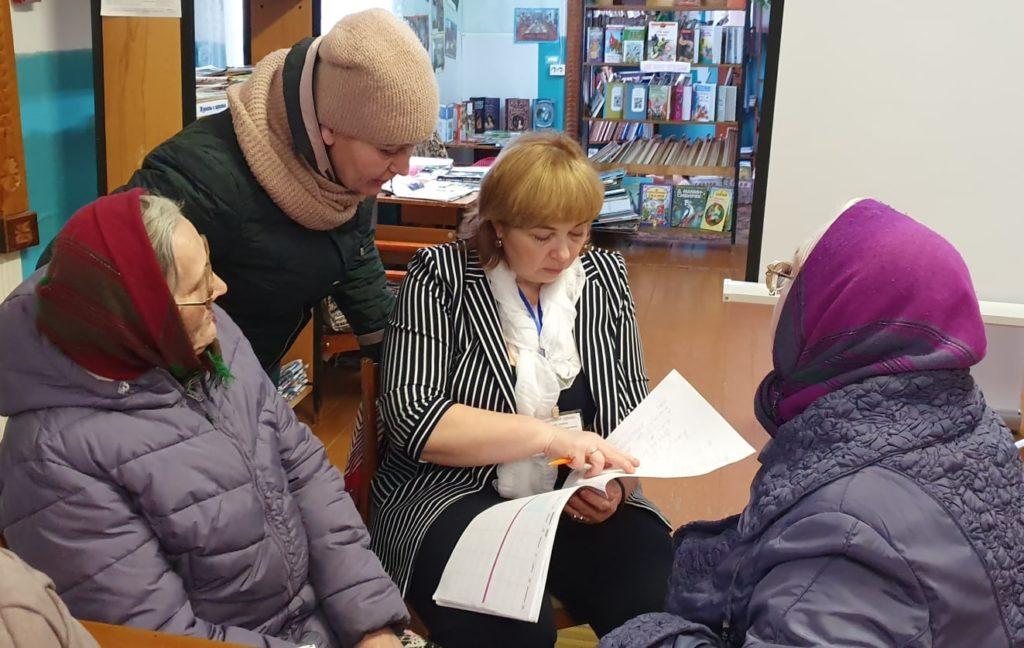 В Виноградовском районе реализуется проект по правовой безопасности пожилых северян