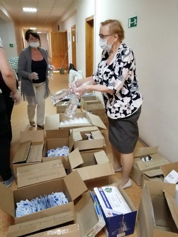 Средства защиты отправлены на все избирательные участки Виноградовского района