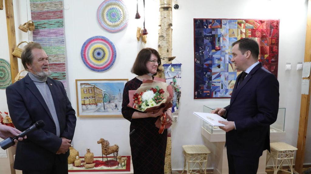 Детской школе ремесел 30 лет: Александр Цыбульский поздравил коллектив с юбилеем