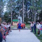 Сегодня состоится возложение цветов к памятнику в парке Победы поселка Березник Виноградовского района