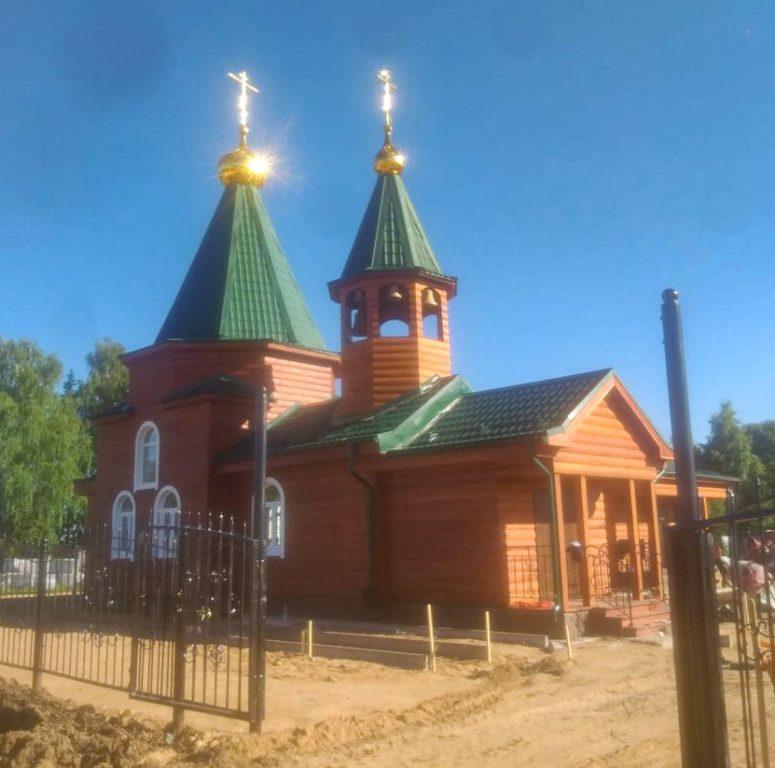Поселок Сельменьга Виноградовского района обрел свою святыню