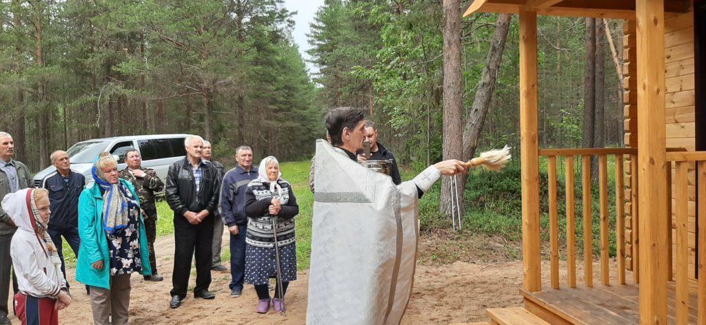 В Виноградовском районе освящены две часовни