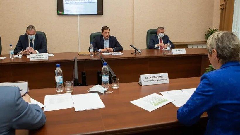 Александр Цыбульский провел встречу с главой Каргопольского района