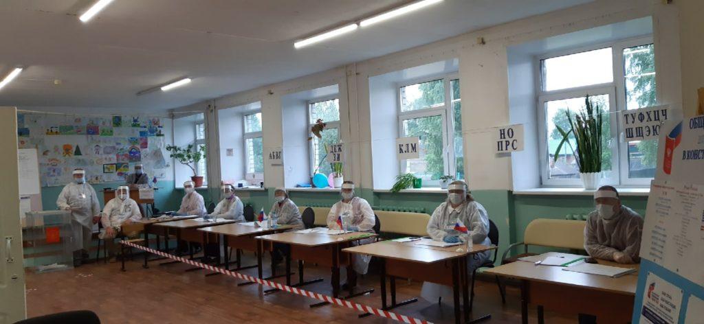 В Виноградовском районе в 8 утра открылись все избирательные участки